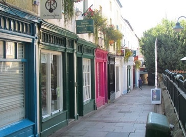 Bath Place in Somerset