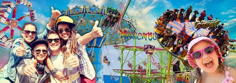 Brean Theme Park in Somerset