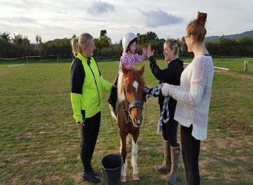 Hobby Horse Riding School in Somerset