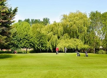 Vivary Park Golf Course in Somerset