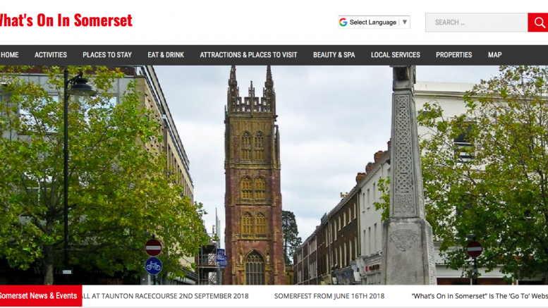 New Somerset Local Search Website