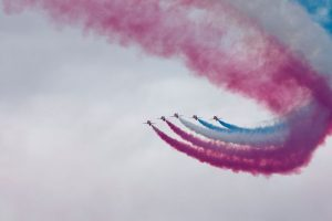 Red Arrows confirm attendance at the 2018 Weston Air Festival